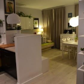 Urywek salonu +kuchni