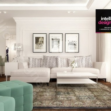Rezydencja klasyczna od Intellio designers