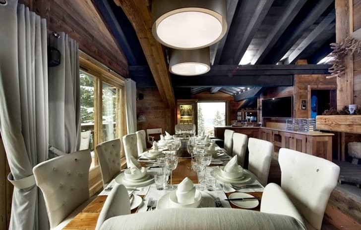 Pozostałe, Przytulny dom w Alpach we Francji