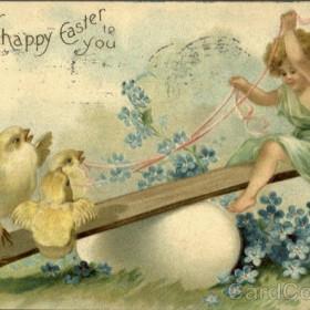 Wielkanocne pocztówki z duszą.