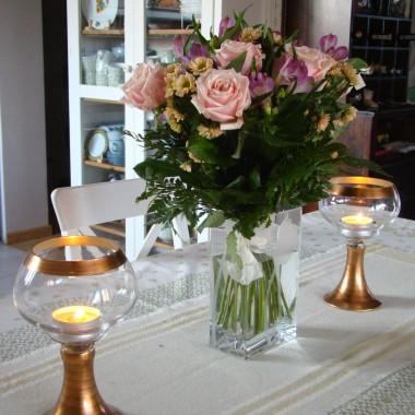 Jadalnia w kwiatki