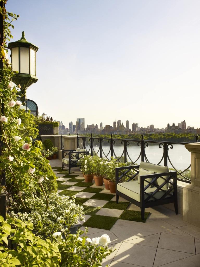 Domy sław, Z widokiem na Central Park
