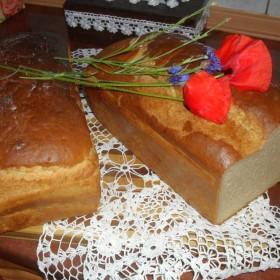 Troszkę kwiatów, koronek i ...chleba  :)