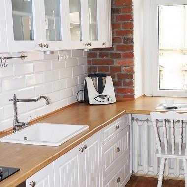 Kuchnia i łazienka w 100 letniej kamienicy