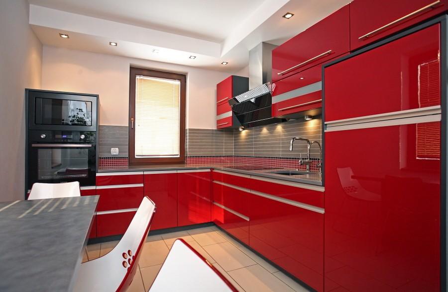 Kuchnia, Czerwony