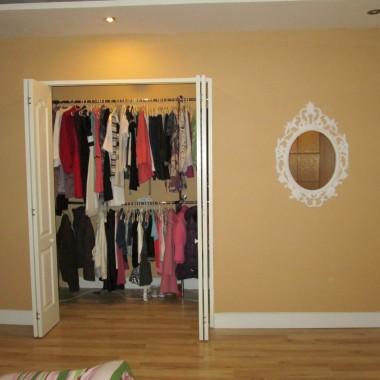 Sypialnia, garderoba