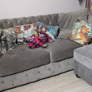 """Dom Macademian Girl  - materiały dzięki uprzejmości Domo+. Więcej można zobaczyć w programie """"Domy gwiazd"""" na antenie kanału Domo+."""