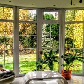 """Ogród z okien """"Wyjątkowego domu"""""""