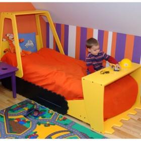 Łóżko buldożer