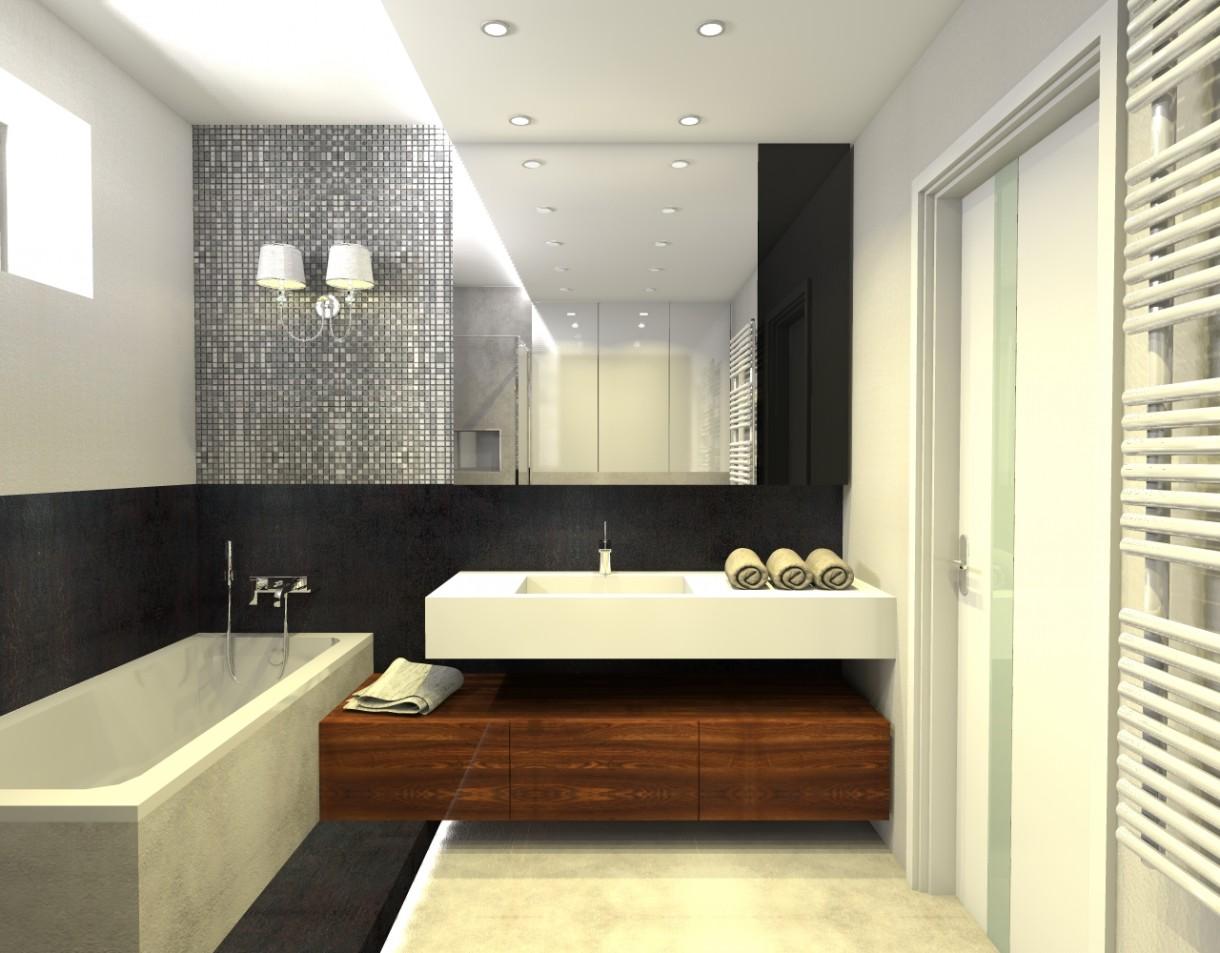 Zdjęcie 2340 W Aranżacji Meble łazienkowe Na Wymiar Nowoczesne
