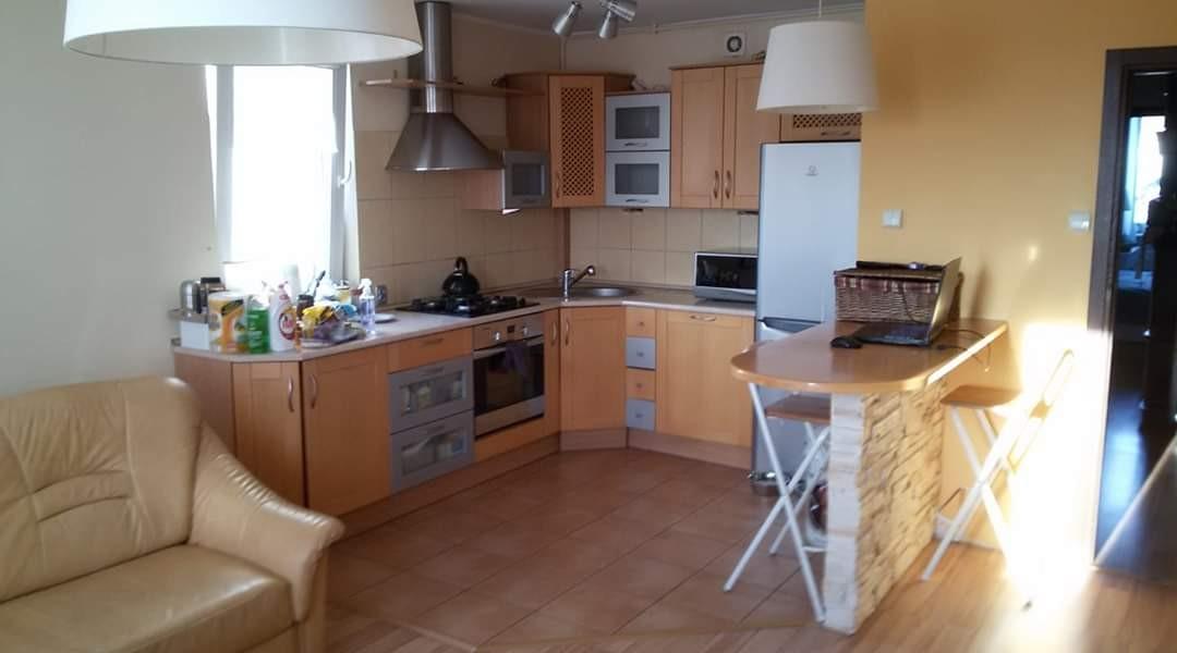 Kuchnia, Po remoncie - W innych galeriach można zobaczyć więcej zdjęć pokoju z kuchnią sprzed 10 lat . Zapraszam