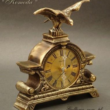 Zegar kominkowy KOMODA z orłem