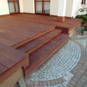 Taras drewniany w Głogowie