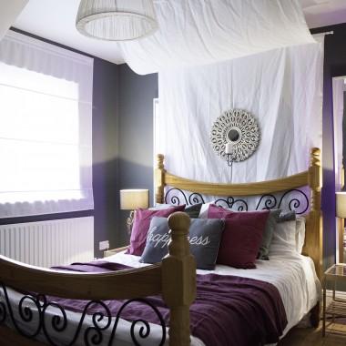 Baaardzo nieustawna sypialnia przed i po
