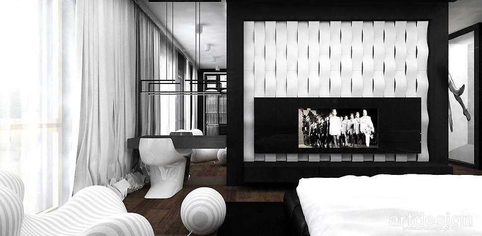Garderoba, ARTDESIGN PERFORMANCE. Wnętrza domu (cz. 2) - nowoczesna aranżacja sypialni