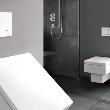 Antybakteryjne przyciski do WC i pisuaru TECEnow