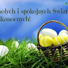 Najlepsze życzenia na Wielkanoc!