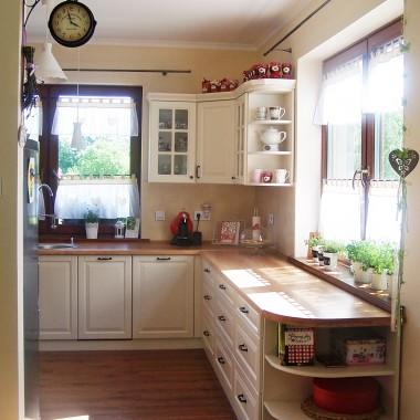 Moja romantyczna kuchnia w WYMARZONYM DOMU:)