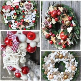 Wianki i stroiki na Święta