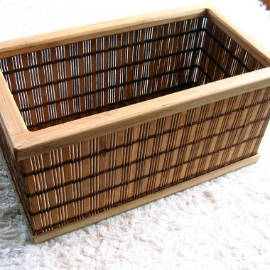 Pudełka bambusowe