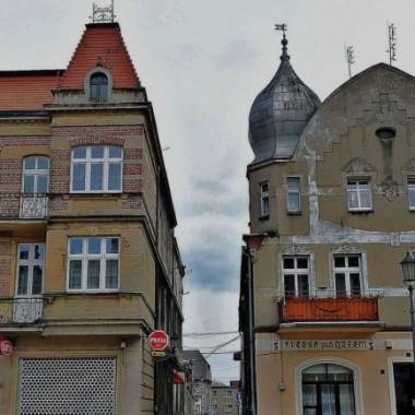 Zaułek w miasteczku