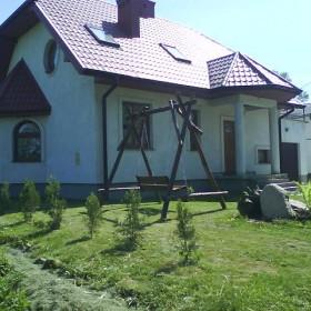 Mój domek na zewnątrz...
