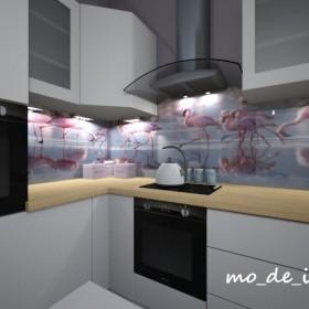 Mały salon z aneksem kuchennym