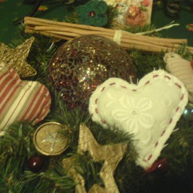 mamine ozdoby na święta Bożego Narodzenia