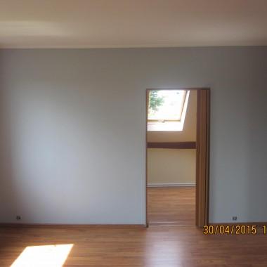 pokoje po malowaniu