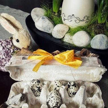 Dekoracje z opakowań po jajkach - Recykling w domu...
