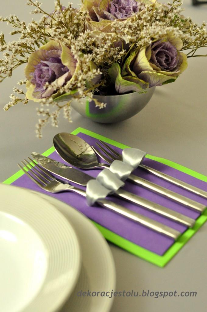Dekoracje, dekoracja stołu
