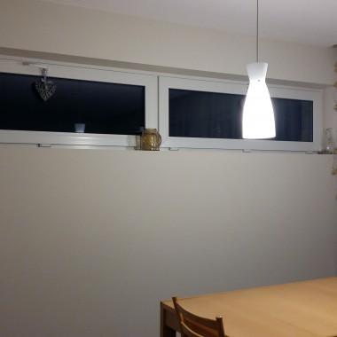 Okna w salonie