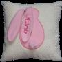 Sprzedam, Spersonalizowana poduszka z króliczkiem