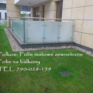 Folie na szyby Balkonowe- Folkos
