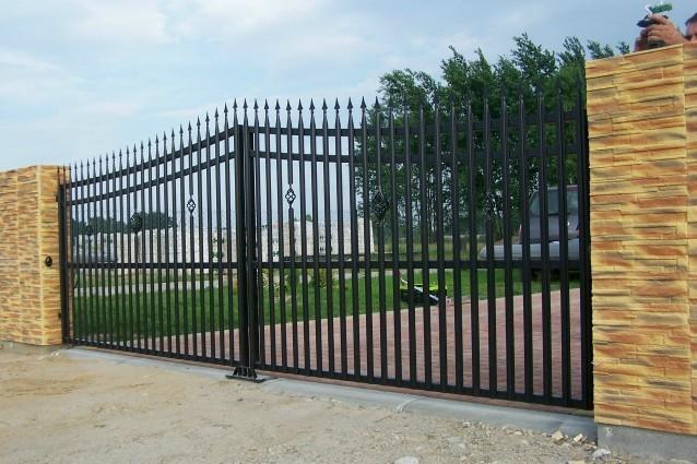 Pozostałe, Ogrodzenia, ogrodzenie, brama