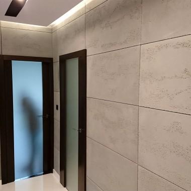 Dekoracyjne płyty betonowe - beton architektoniczny na ścianach
