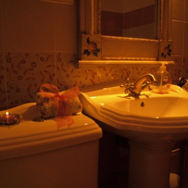 Moja mała różowa łazienka &#x3B;)
