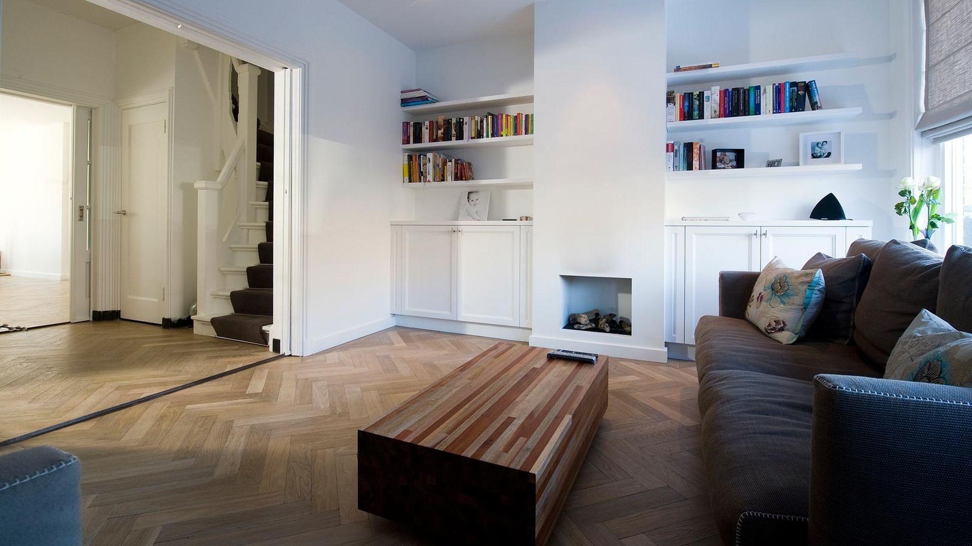 drewniana podłoga