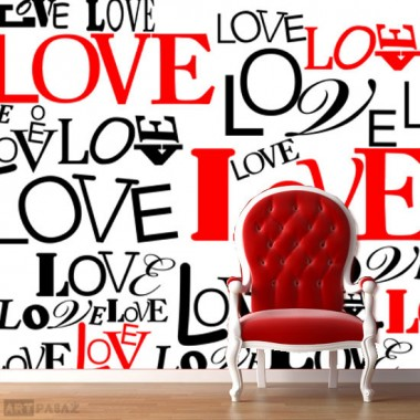 "fototapeta ""love"""