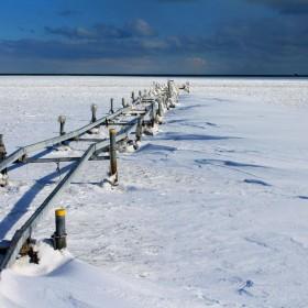 Moj pierwszy zimowy spacer po plazy :)