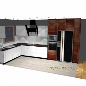 Propozycja zabudowy kuchennej