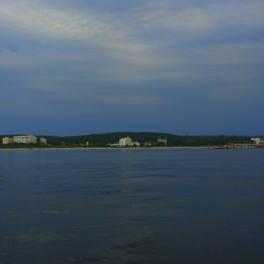 Był widok z lądu na morze, a teraz jest z morza na ląd :-)))