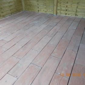 HIT NA POLSKIM RYNKU betonowe drewno,chodnik,altanka