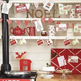 Kuchnia w świątecznym nastroju:)