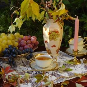 Ciepła październikowa jesień