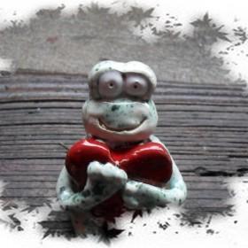 Na Walentynki - żabujane żaby