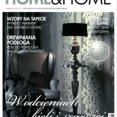 Artykuł w miesięczniku HOME & HOME  !!!