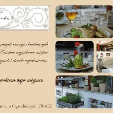 restauracja prowansalska Le Jardin w TRACZ C.O.