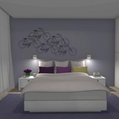 Duża sypialnia