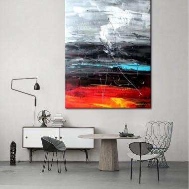 Obrazy do salonu ręcznie malowane